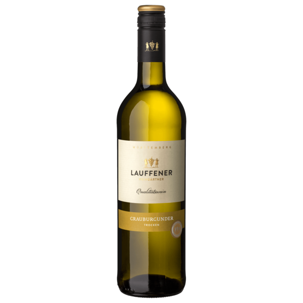 Lauffener Weingärtner Weißwein Grauburgunder QbA trocken 0,75l