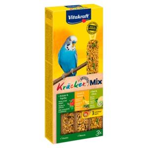 Vitakraft Kräcker Trio Banane/Kräuter/Kiwi 3 Stück