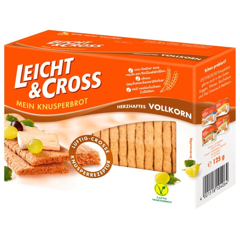 Leicht & Cross Knusperbrot Vollkorn 125g
