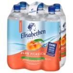 Elisabethen Mineralwasser Pfirsich 6x1l