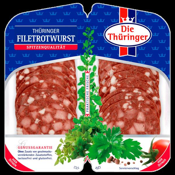 Die Thüringer Filetrotwurst 2x50g