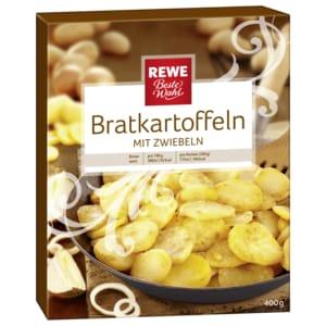 REWE Beste Wahl Brat-Kartoffeln mit Zwiebeln 400g
