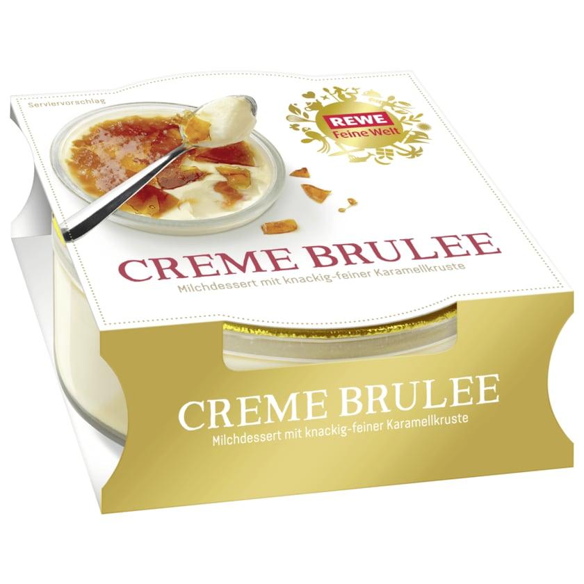 REWE Feine Welt Crème Brûlée Milchdessert 100g