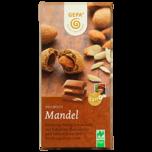 Gepa Ganze Mandel Bio Vollmilch-Schokolade 100g