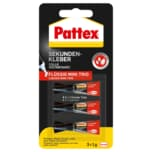 Pattex Sekundenkleber Mini 3 Stück