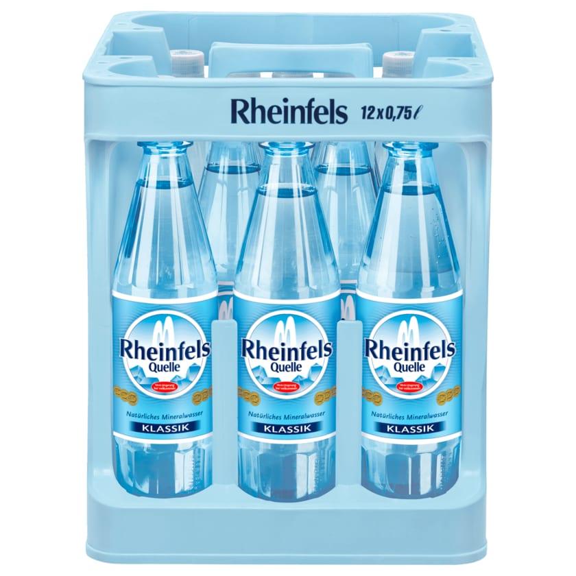 Rheinfels Quelle Klassik 12x0,75l