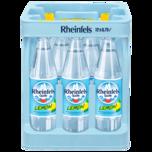 Rheinfels Quelle Mineralwasser Lemon 12x0,75l