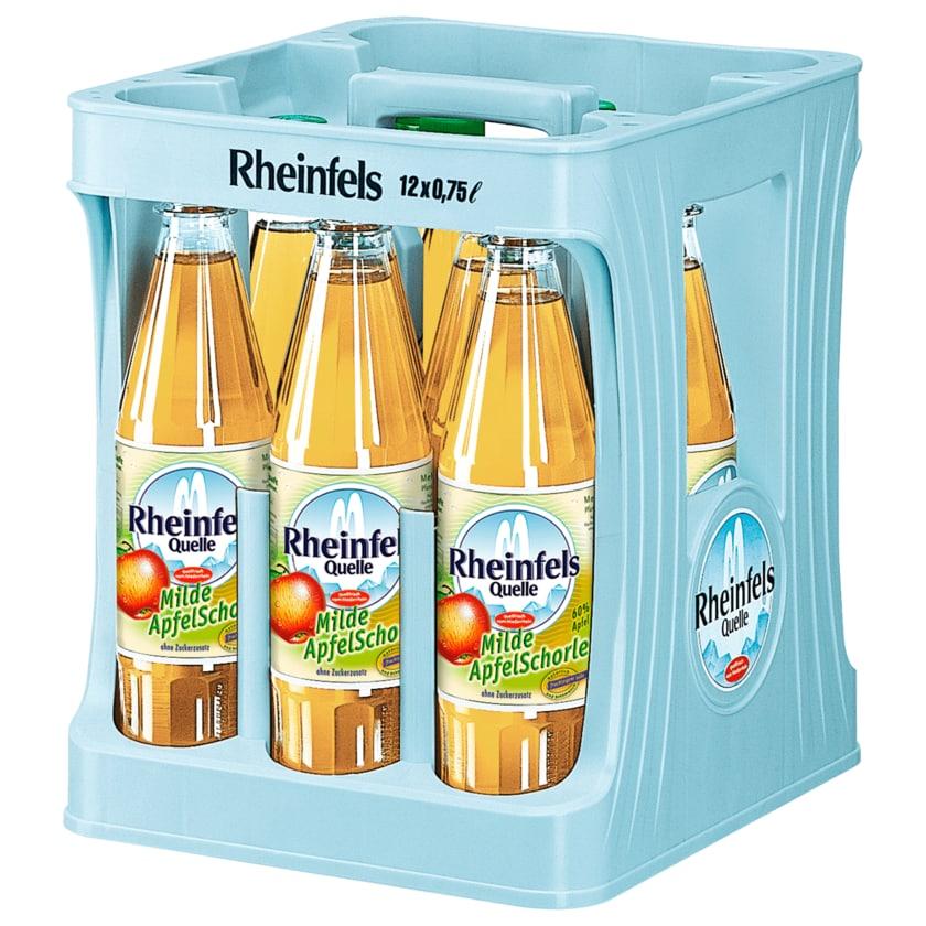 Rheinfels Quelle Apfelschorle 12x0,75l