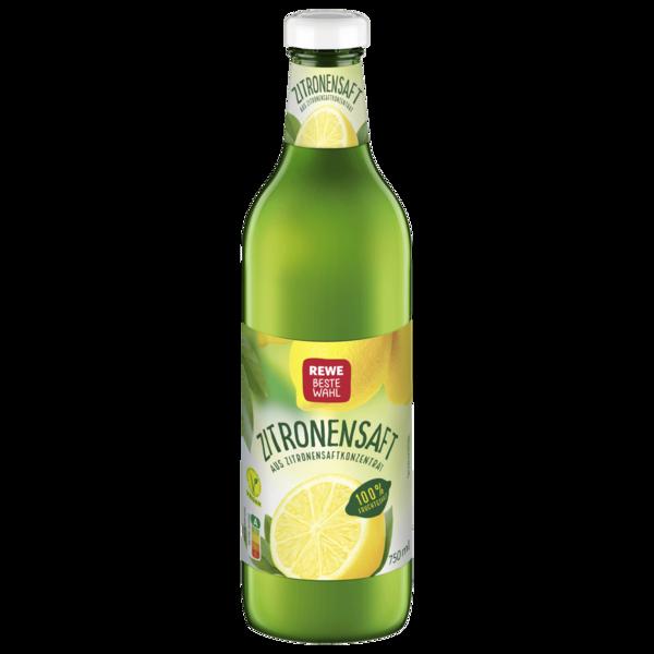 REWE Beste Wahl Zitronensaft 0,75l