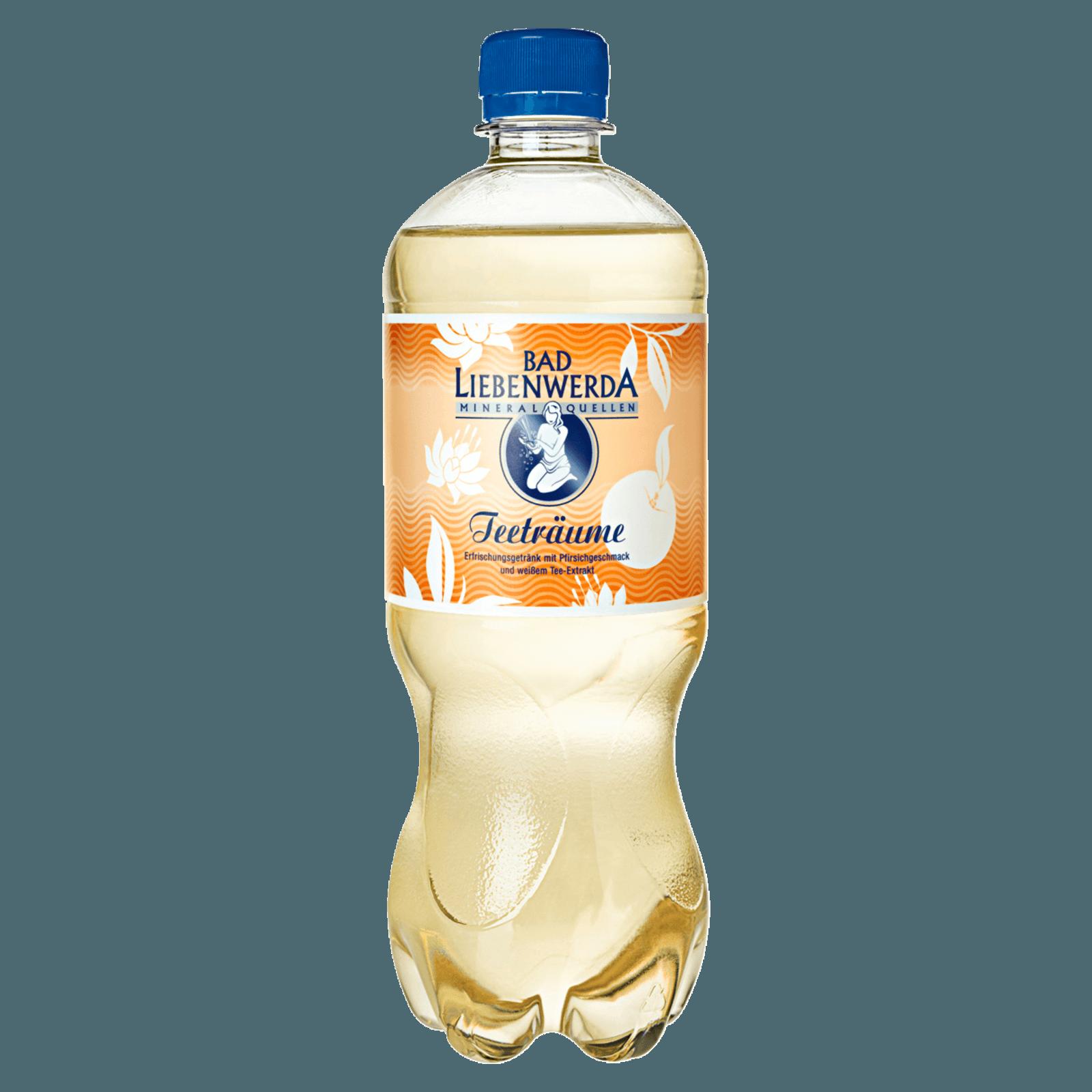 Bad Liebenwerda Teeträume Pfirsich 0,75l