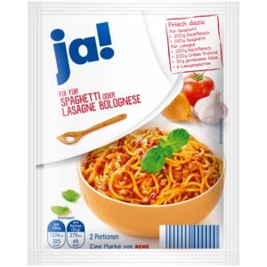 ja! Fix für Spaghetti Bolognese oder Lasagne Bolognese 40g