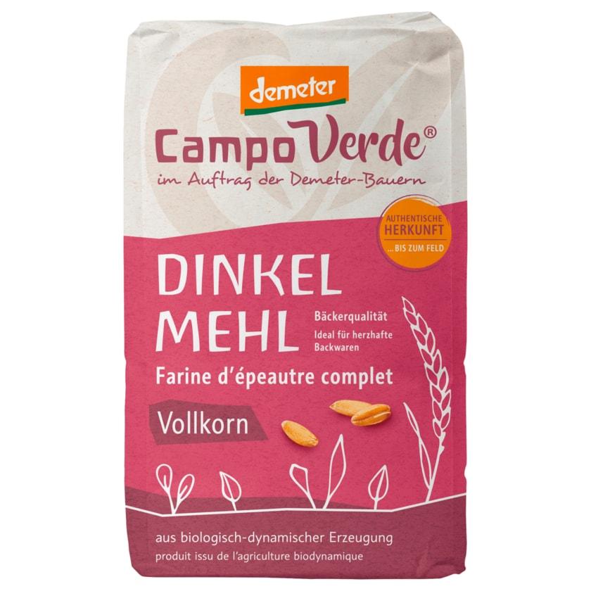 Campo Verde Bio Demeter Dinkelmehl Vollkorn 1kg