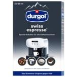 Durgol Swiss Espresso Entkalker 2x125ml