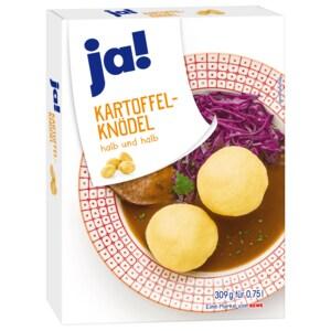 ja! Kartoffel-Knödel halb & halb 300g