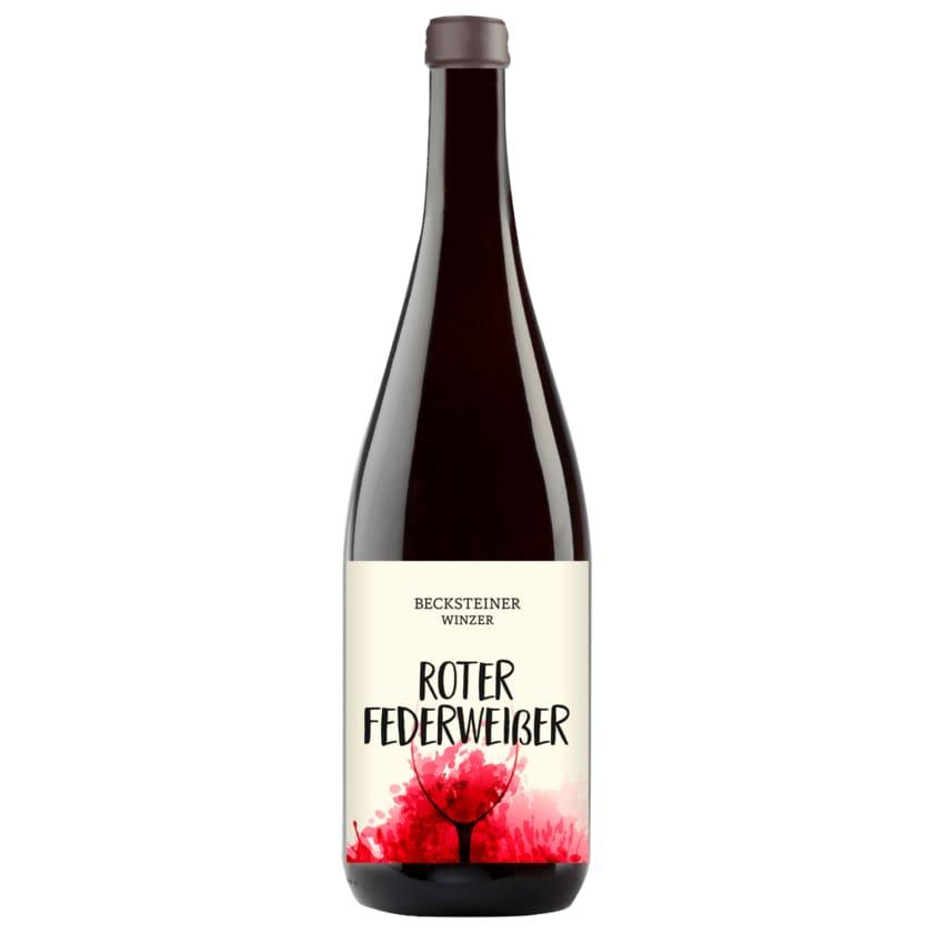 Becksteiner Winzer Rotwein Roter Federweißer 1l