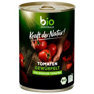 Bio Zentrale Tomaten gewürfelt 400g