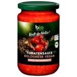 Biozentrale Bio Tomatensauce Bolognese Vegan 350g