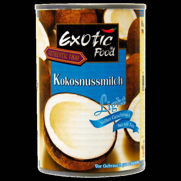 Exotic Food Kokosnussmilch light 400ml