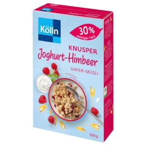 Kölln Müsli Knusper-Joghurt-Himbeer 30% weniger Fett 500g
