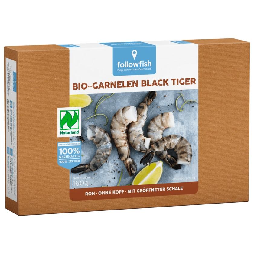 Followfish Bio Black Tiger Garnelen 160g