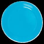 Duni Plastikteller Light Blue 10 Stück 22cm