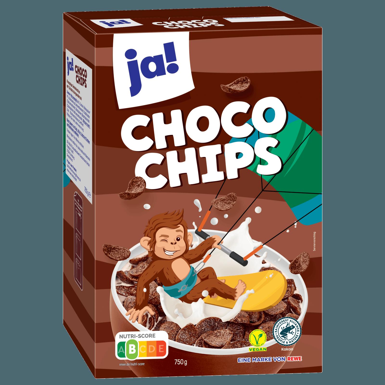 ja! Choco Chips 750g