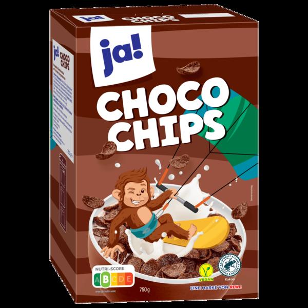 Choco Chips mit feinem Schokoladengeschmack.