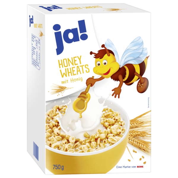 ja! Honey Wheats 750g