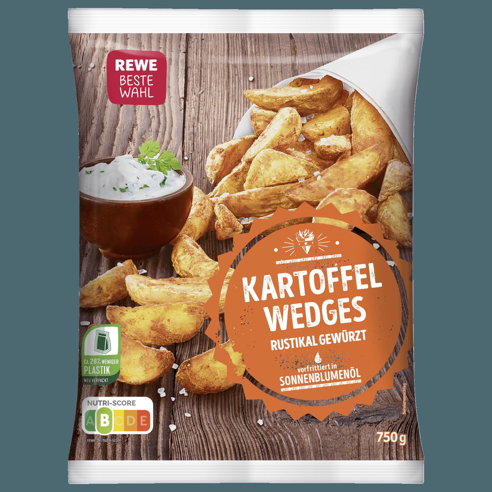 Kartoffel Kcal rewe beste wahl kartoffel wedges würzig lecker 750g bei rewe