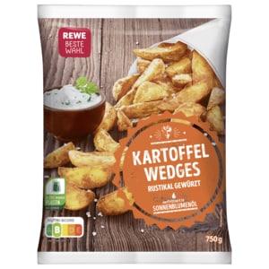 REWE Beste Wahl Kartoffel-Wedges würzig-lecker 750g