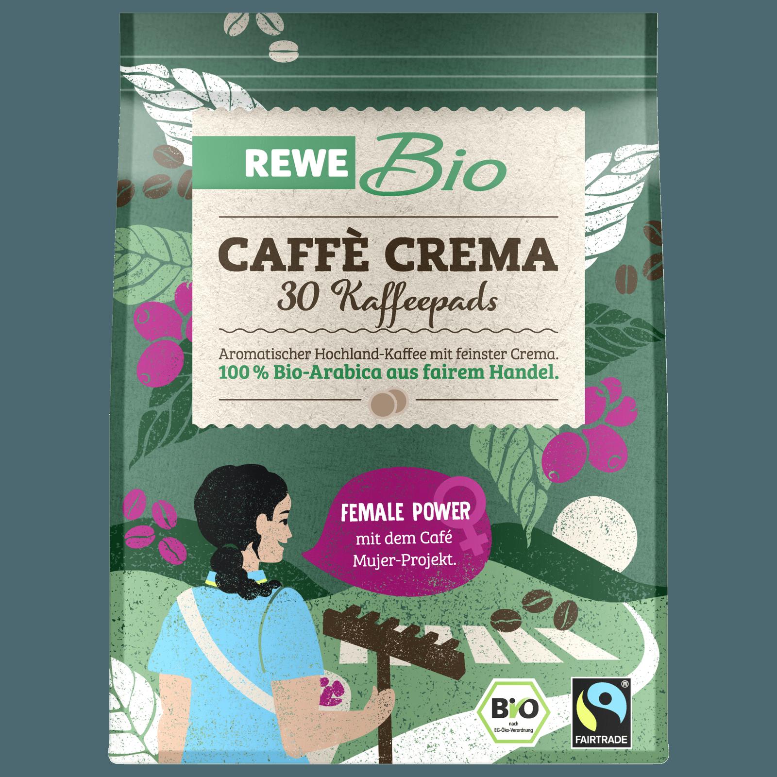 Rewe Bio Caffe Crema 219g 30 Pads Bei Rewe Online Bestellen