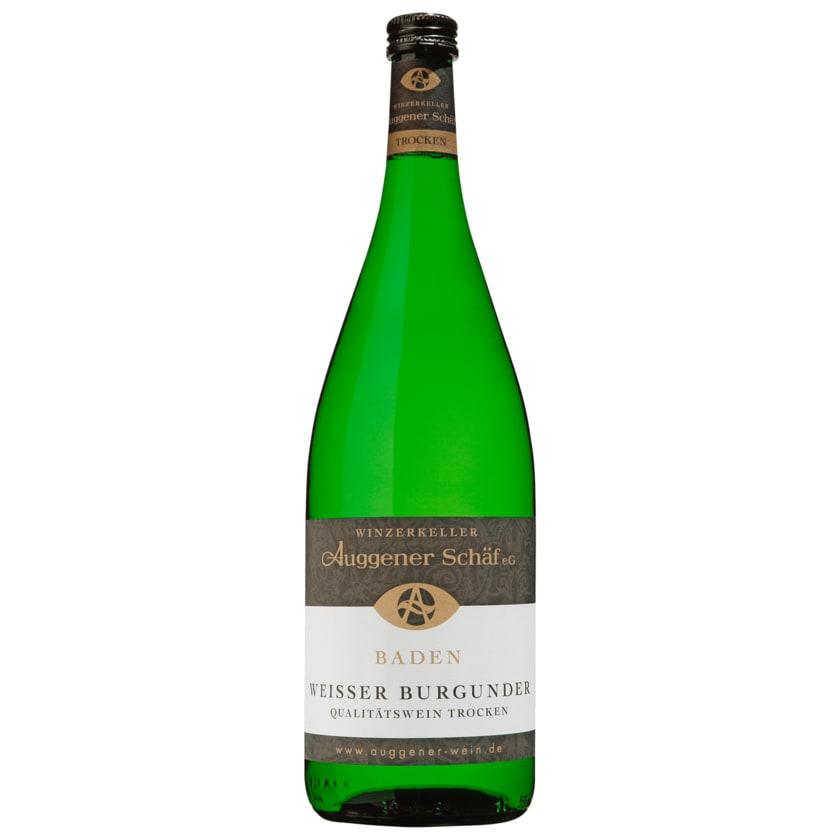Auggener Schäf Weißwein Weißer Burgunder QbA trocken 1l