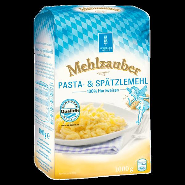 Mehlzauber Pasta- & Spätzlemehl 1kg