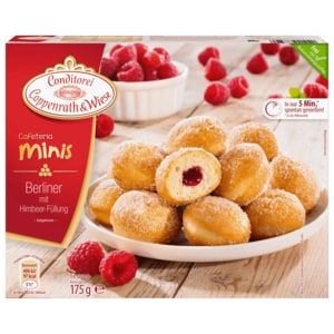 Conditorei Coppenrath & Wiese Cafeteria minis Berliner 175g