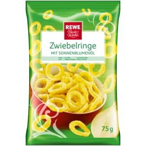 REWE Beste Wahl Zwiebelringe mit Sonnenblumenöl 75g