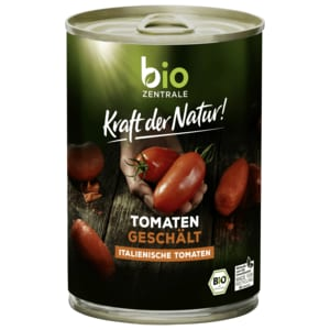 Bio Zentrale Tomaten geschält 400g