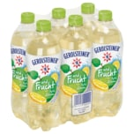 Gerolsteiner und Frucht Apfel Zitrone 6x0,75l