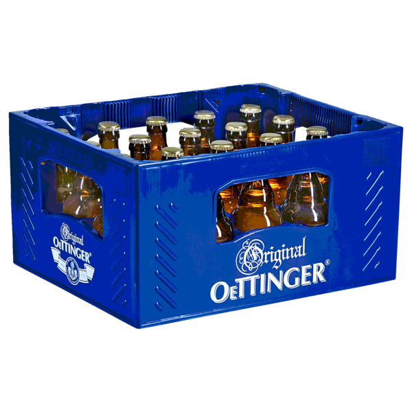Original Oettinger Export Steinie 20x0,33l