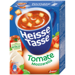 Erasco Heisse Tasse Tomate-Mozzarella mit Croûtons 3x150ml