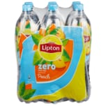 Lipton Ice Tea Peach Zero 6x1,5l