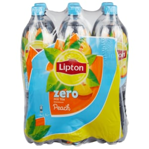 Lipton Ice Tea Peach Zero 6x1,5l