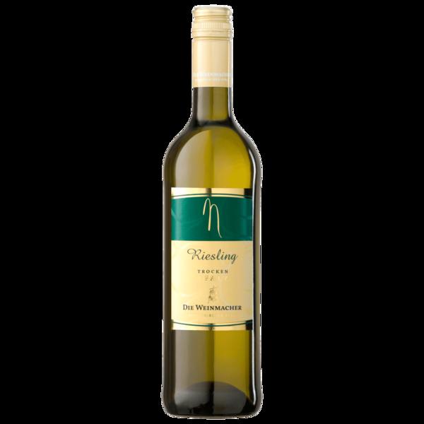 Die Weinmacher Weißwein Riesling trocken 0,75l