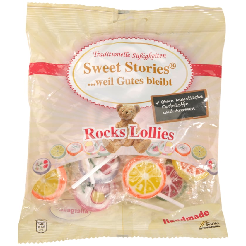 Sweet Stories Rocks Lollies 150g