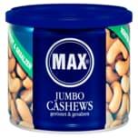 Max Jumbo-Cashews geröstet & gesalzen 150g