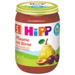 Hipp Bio Pflaume mit Birne 190g