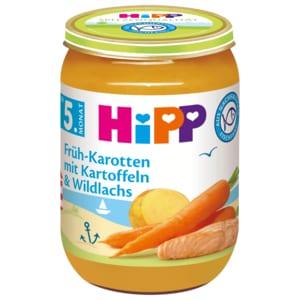 Hipp Früh-Karotten mit Kartoffeln & Lachs 190g
