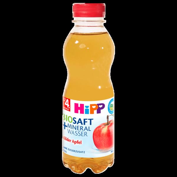 Hipp Bio-Saft & Mineralwasser Milder Apfel 0,5l