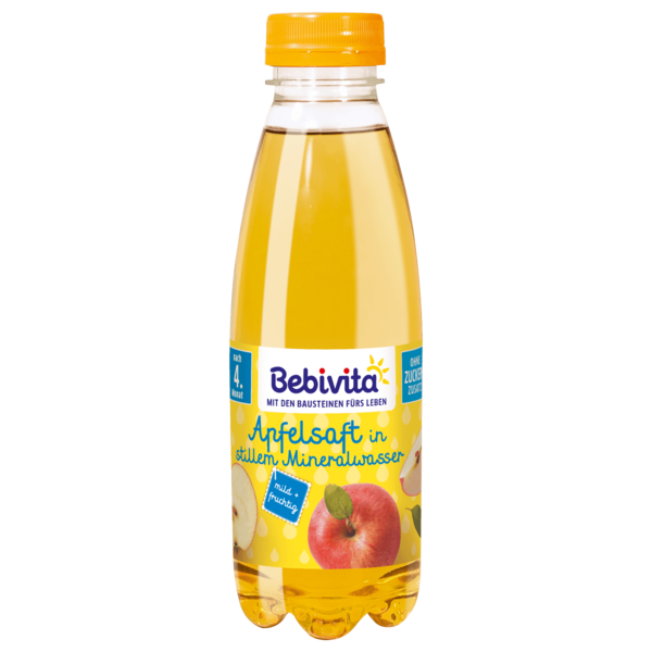 Bebivita Apfelsaft mit Mineralwasser 0,5l