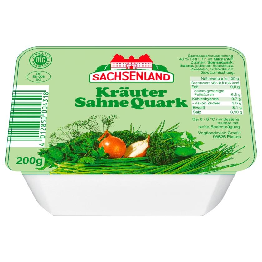Sachsenland Kräuter-Sahne-Quark 200g