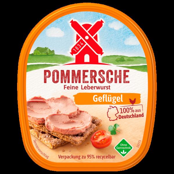 Rügenwalder Mühle Pommersche Gutsleberwurst 100% Geflügel 125g